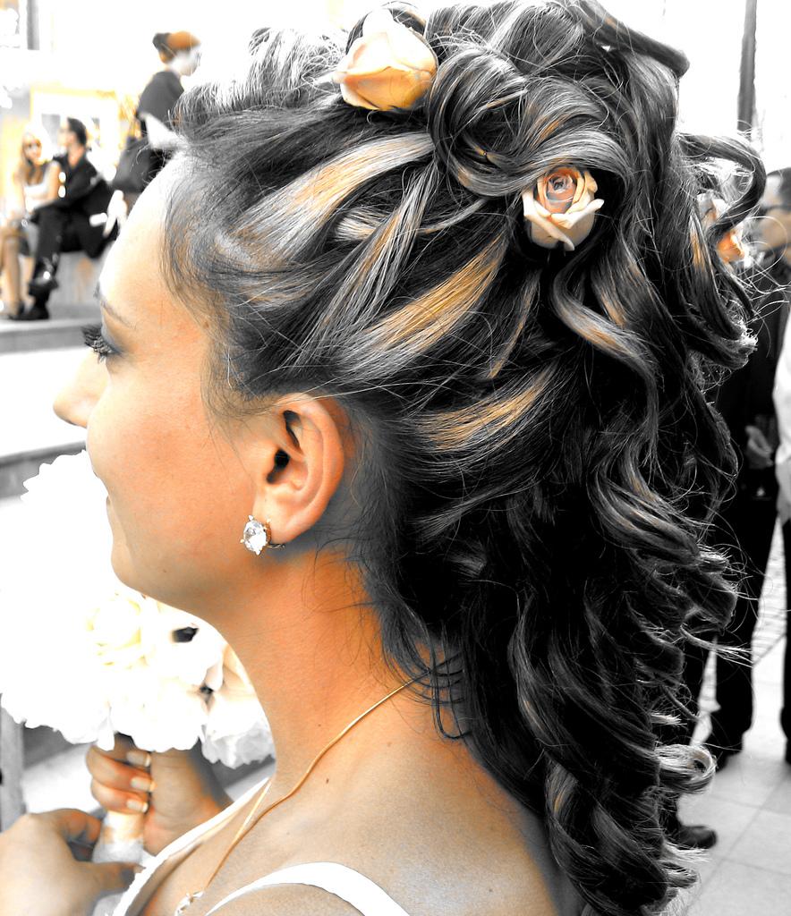 Свадебные причёски для длинных волос