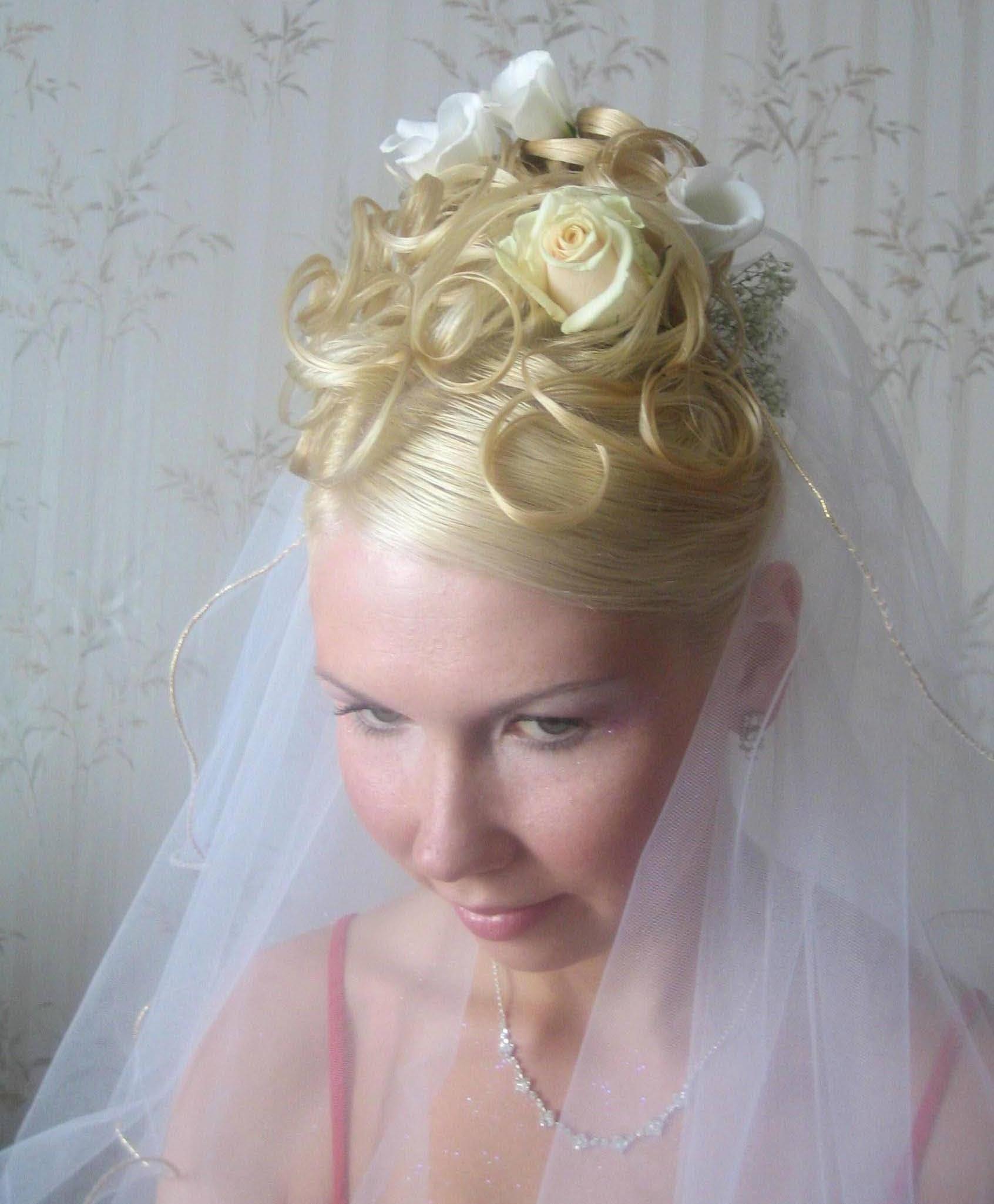 Самые неудачные свадебные прически: не повторяйте 66