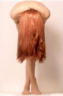 как удалить хну с волос