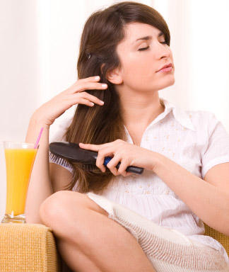Народные средства для жирных волос